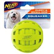 "NERF DOG 2.5"" Small Checker Squeak Ball"