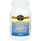 Best Choice Oyster Shell Calcium 500 mg Plus Vitamin D Tablets