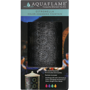 Aquaflame Fountain, Citronella, Color-Changing