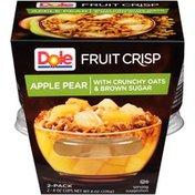 Dole Apple Pear Fruit Crisp