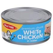 Valu Time Premium Chunk White Chicken In Water