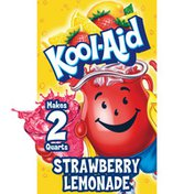 Kool-Aid Unsweetened Strawberry Lemonade Artificially Flavored Powdered Soft Drink Mix