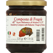 Acetaia Bellei Strawberry Compote with Balsamic Vinegar of Modena