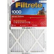 3M Air Cleaning Filter, Electrostatic, MPR 1000, Allergen Defense