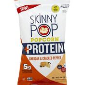 SkinnyPop Popcorn, Cheddar & Cracked Pepper