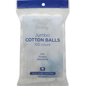 Equate Cotton Balls, Jumbo
