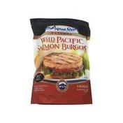 Aqua Star Wild Caught Alaskan Salmon Burgers