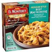El Monterey Mexican Style Beef Mac 'N Cheese El Monterey Mexican Style Beef Mac 'N Cheese