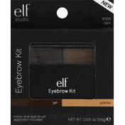 e.l.f. Gel & Powder Eyebrow Kit Dark