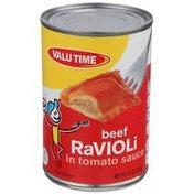 Valu Time Beef Ravioli In Tomato Sauce