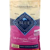 Blue Dog Food, Chicken and Brown Rice Recipe, Small Breed, Adult
