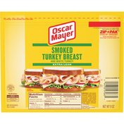 Oscar Mayer Smoked Turkey Breast Sliced Lunch Meat