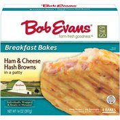 Bob Evans Farms Ham & Cheese Hash Browns in a Patty Breakfast Bakes