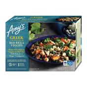 Amy's Kitchen Frozen Entrées, Greek Red Rice & Veggies, Gluten free