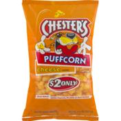 Chester's Puffcorn Cheese Corn Snacks