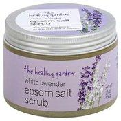 The Healing Garden Scrub, Epsom Salt, White Lavender