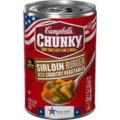 Campbell's® Chunky® Chunky Sirloin Burgers With Country Vegetables