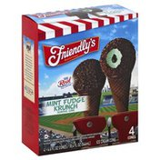 Friendly's Ice Cream Cone, Mint Fudge Crunch