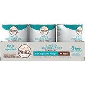 NUTRO Adult Limited Ingredient Diet Grain Free Fish & Potato Recipe Dog Food