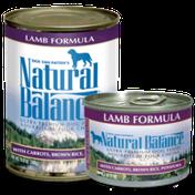 Natural Balance Lamb Formula