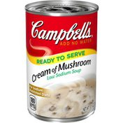 Campbell's® Ready-to-Serve Low Sodium Cream of Mushroom Soup