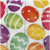 Party Creations Napkins, 2 Ply, Basket Bounty