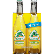 Jarritos Soda, Pineapple, 4 Pack