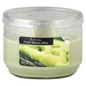 Candle Lite Candle, Fresh Melon Slice, 3 Wick