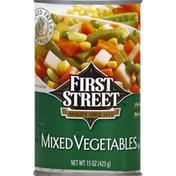 First Street Mixed Vegetables