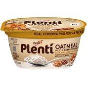 Yoplait Plenti Greek Caramelized Banana Nut Oatmeal with Yogurt