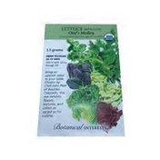 Botanical Interests Organic Q's Medley Mesclun Lettuce Seeds