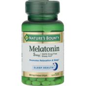 Nature's Bounty Melatonin Rapid Release Softgels