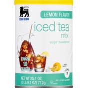 Food Lion Mix, Iced Tea, Lemon Flavor, Can