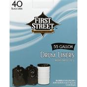 First Street Drum Liners, Twist Ties