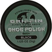 Griffin Shoe Polish, Premium, Black