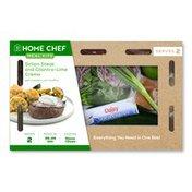 Home Chef Sirloin Steak & Cilantro-Lime Crema Meal Kit