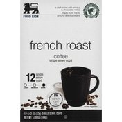 Food Lion Coffee, Dark Roast, French Roast, Single Serve Cups