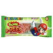 Au Some Candies 3-Dees Gummy, Super Mario, Sour, Assorted Flavors