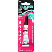 L.A. Colors Nail Glue, Drip Proof, Fast Action