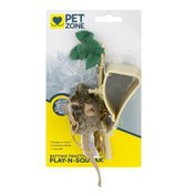Pet Zone Batting Practice Play-N-Squeak Cat Toy