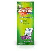 Zyrtec Children's Children's Zyrtec Allergy Syrup, Dye-Free, Sugar-Free Grape
