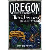 Oregon Blackberries, in Light Syrup
