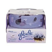 Glade Scented Oil Refillable Lavender & Vanilla Candles