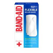 Band-Aid Brand Of First Aid Products Flexible Rolled Gauze