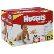 Huggies Diapers, Size 3 (16-28 lb), Disney Mickey Mouse