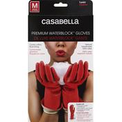 Casabella Gloves, Premium, WaterBlock, Medium