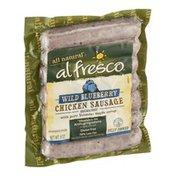 Alfresco All Natural Chicken Sausage Wild Blueberry
