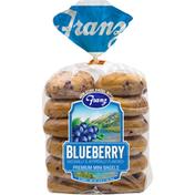 Franz Bagels, Premium, Mini, Blueberry