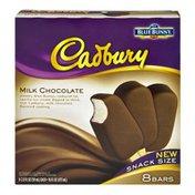 Blue Bunny Cadbury Mik Chocolate Snack Size Ice Cream Bars - 8 CT