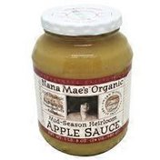 Nana Mae's Organic Mid Season Heirloom Apple Sauce